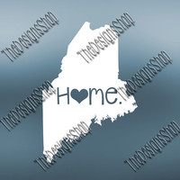 Maine Home State Svg Dxf Pdf Jpg Cut File | Maine pdf File | Love JPG Sticker | Svg Dxf Jpg Jpeg  PDF | Digital Download | 059