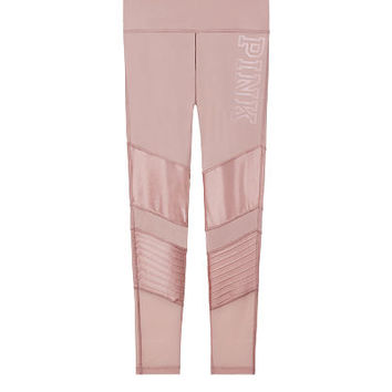 Ultimate High-Waist Ankle Legging with Mesh - PINK - Victoria's Secret