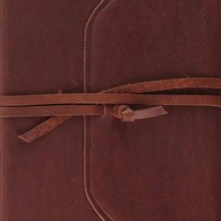 ESV Single Column Journaling Bible - Brown Leather - The Daily Grace Co.