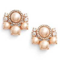 kate spade new york 'pearls of wisdom' stud earrings | Nordstrom