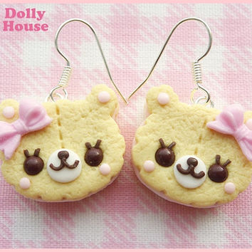 Biscuit Bears Earrings by Dolly House