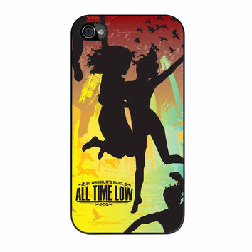 All Time Low Cover Album Special iPhone 4 Case