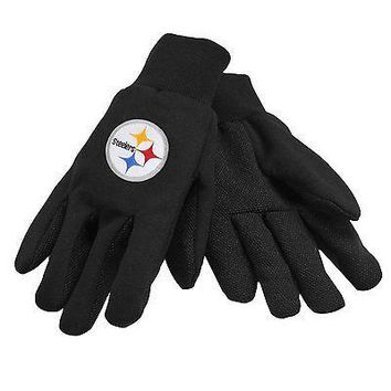 NFL Pittsburgh Steelers Team Sport Utility Gloves Football