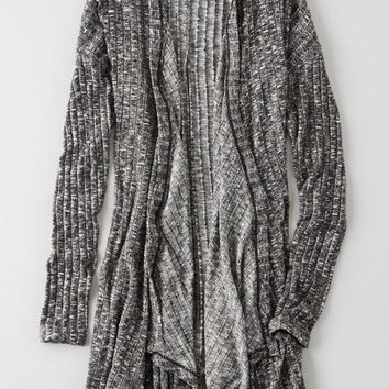 AEO Women's Feather Light Waterfall Cardigan