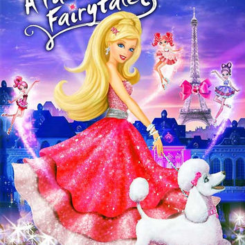 Barbie: A Fashion Fairytale 11x17 Movie Poster (2010)