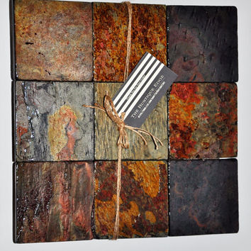 Decorative Multicolor Tile ~ Rustic Home Decor ~ Perfect Gift for Mother's Day, Weddings, Anniversary, Housewarming, or Birthdays!!