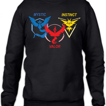 POKEMON GO TRIO TEAM Crewneck Sweatshirt