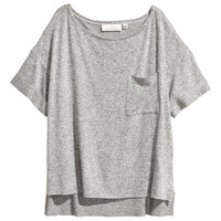 H&M Wide T-shirt with Chest Pocket $24.99