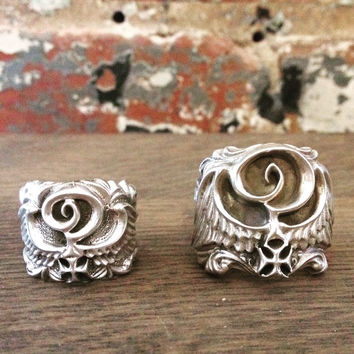 Indian Larry Ring, Silver