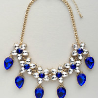 Royal Sapphire Statment Necklace