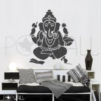 Vinyl Wall Decal   Ganesha  The remover of obstacles  by NouWall