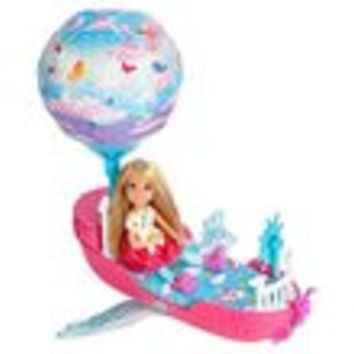 Barbie Dreamtopia Magical Dreamboat Vehicle with Doll