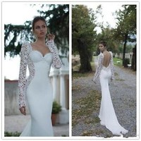 Sweetheart Wedding Dress Elegant Berta Bridal Dress Custom Size 2-4-6-8-10-12-14