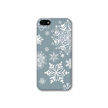 Snowflakes iPhone Case, Winter iPhone 5S Case, Christmas iPhone 5C Case, Holiday iPhone 4S Case, Snow iPhone 5 Case Snowflake iPhone 6 Case