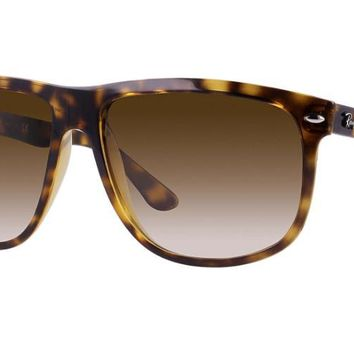 Ray Ban RB4147 710/51 Sunglasses Tortoise with Brown Gradient Lenses