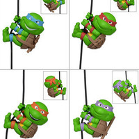 4Pcs Teenage Mutant Ninja Turtles Scalers