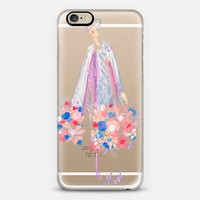 Paper Fashion x Lady in Chanel iPhone 6s case by paperfashion | Casetify