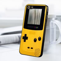 Yellow Gameboy Color iPhone 5 Or 5S Case