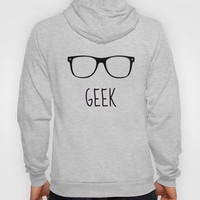 GEEK IN PINK Hoody by colorstudio