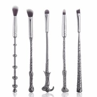 Harry Potter and Fantastics Beasts Wand Brush Set - 5 Piece