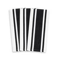 Heavyweight Striped Kitchen Towels (Set of 3)