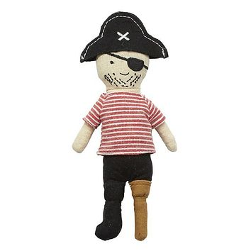 MUD PIE PEG LEG PIRATE RATTLE