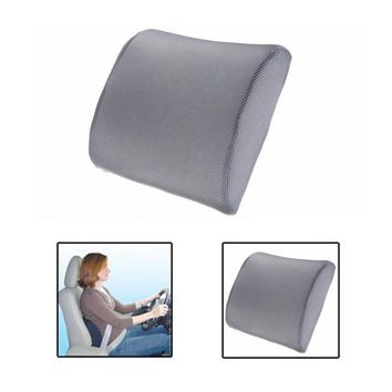 Memory Foam Pillow Chair Cushion Car Auto Travel Lumbar Support Seat Cushion High-Resilience Chair Pillow for Home Office