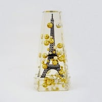 Vintage Eiffel Tower Snow Globe Collectible from Paris