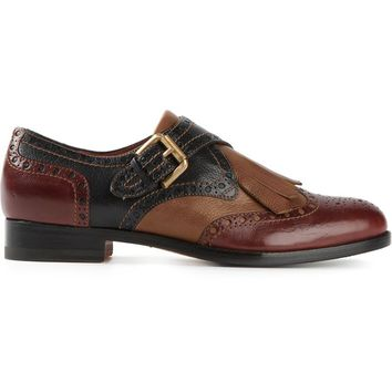 Santoni buckled loafers