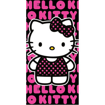 Hello Kitty - Pop Velour Beach Towel