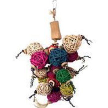 A&e Cage Company - Java Wood Ball Thing Bird Toy