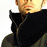Man Cowl - Black
