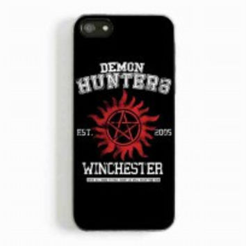 supernatural demon hunters for iphone 5 and 5c case