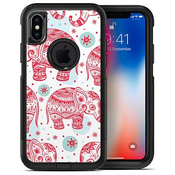 Sacred Red Elephant and Polkadots - iPhone X OtterBox Case & Skin Kits