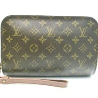 LOUIS VUITTON Pochette Orsay Clutch Pouch Bag Monogram Canvas M51790