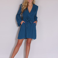 Perfection Dress - Dark Teal