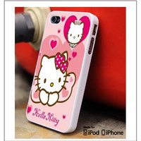 Hello Kitty Girly iPhone 4s iPhone 5 iPhone 5s iPhone 6 case, Galaxy S3 Galaxy S4 Galaxy S5 Note 3 Note 4 case, iPod 4 5 Case
