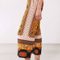 Ecote Lila Printed Crop Pull-On Pant - Urban Outfitters