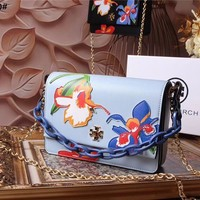 Tory Burch Women Men Clutch Bag Wristlet Wallet Purse Leather Tote Handbag Shoulder Messenger Bags