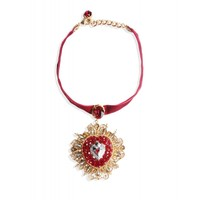 Dolce & Gabbana Heart Pendant Necklace - ShopBAZAAR