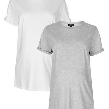 **MATERNITY Multi-Pack Boyfriend Tees - Maternity - Clothing