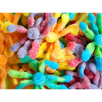 Trolli Sour Brite Gummy Octopus Candy: 3LB Box