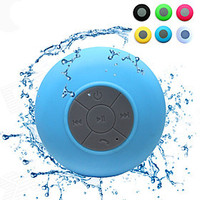 [NewYearSale]Mini Ultra Portable Waterproof IPX 4 Stereo Wireless Bluetooth Speaker (Blue) - Default