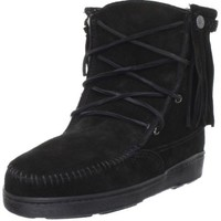 Minnetonka Women's Pile Lined Tramper Ankle Boot