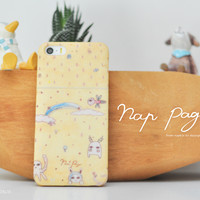 apple iphone case : abstract painting character