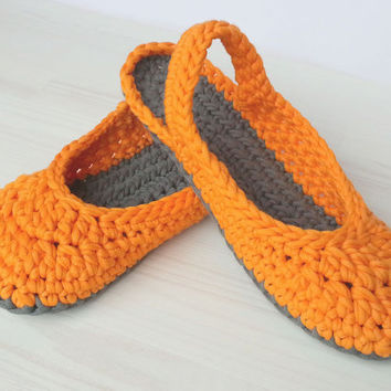 Crocheted Slingbacks, optional Outdoor-Sole, comfort, washable