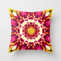 KLESHA II Throw Pillow by Chrisb Marquez