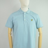 Lyle & Scott AW17 Polo Shirt in Slate Blue