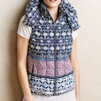 Ukiyo Vest by Pure + Good Blue Motif