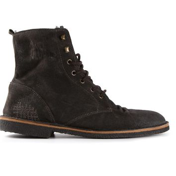 Golden Goose Deluxe Brand distressed lace-up boots